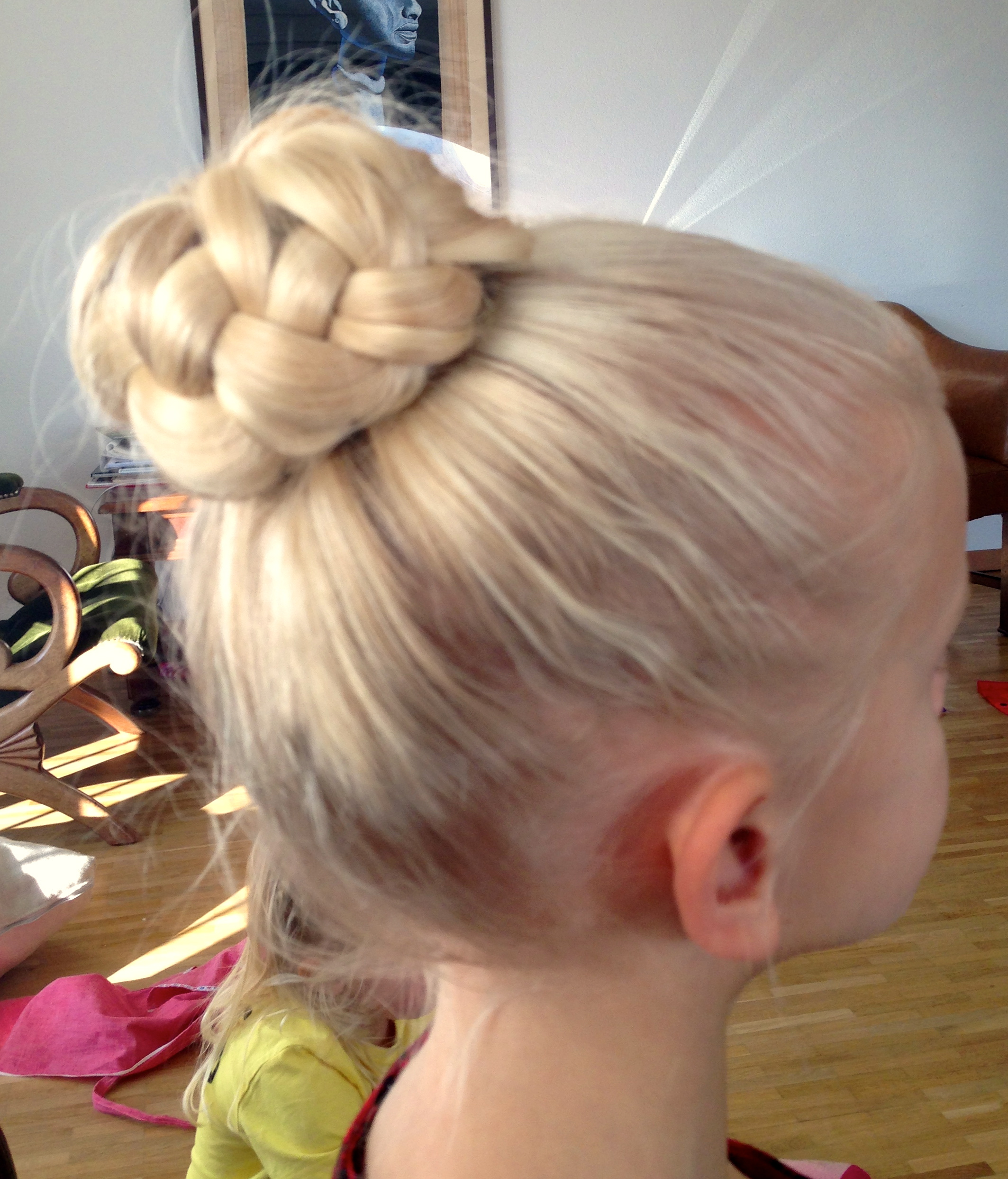 French Braid Bun For Ballet
