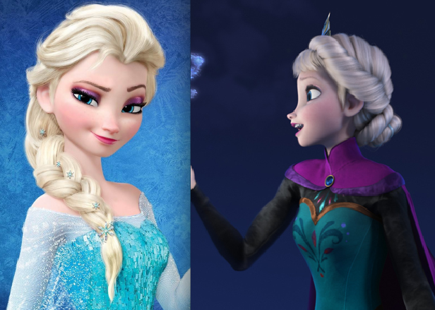 Elsa in Disney's Frozen