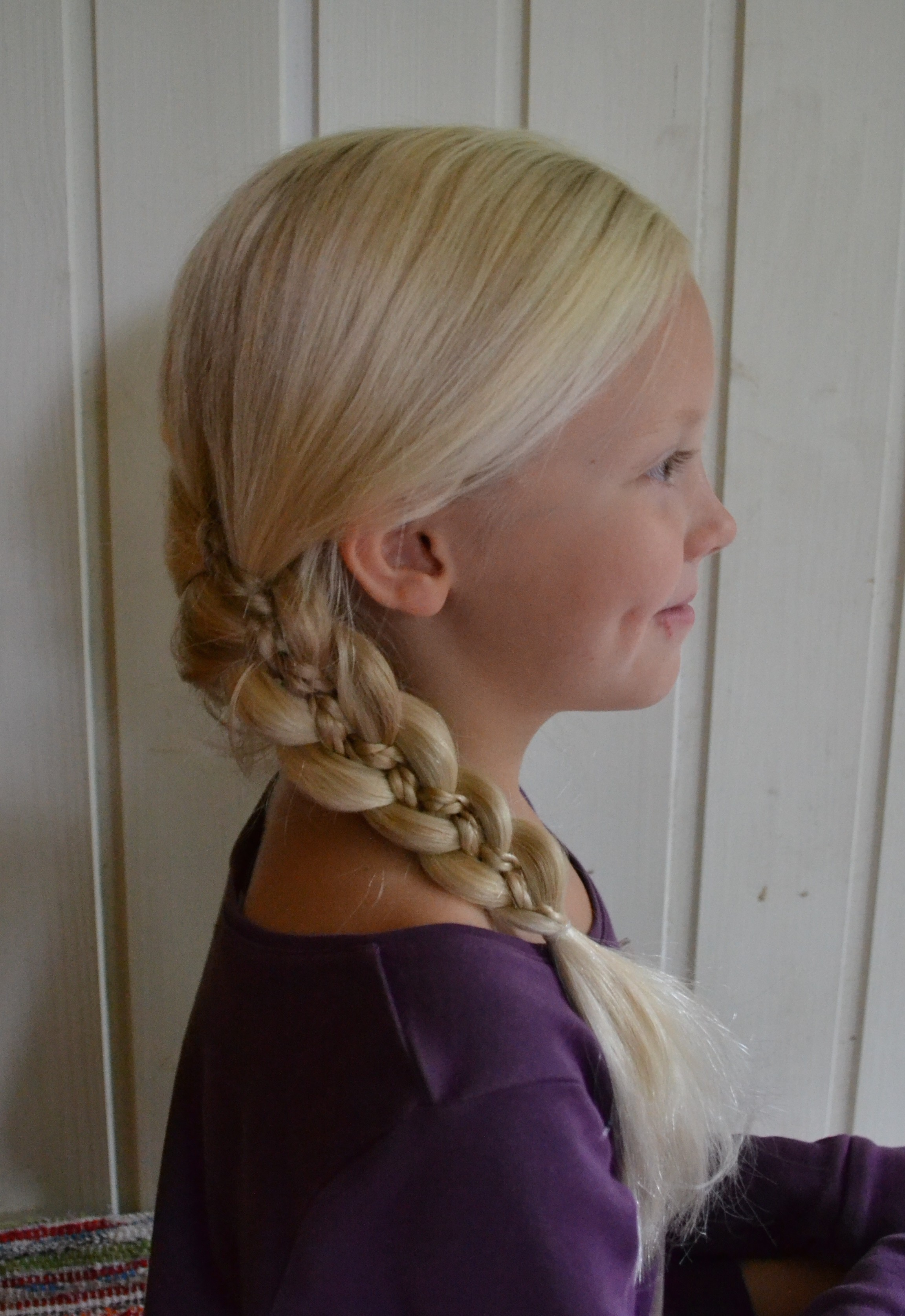 5-strand braid with microbraids
