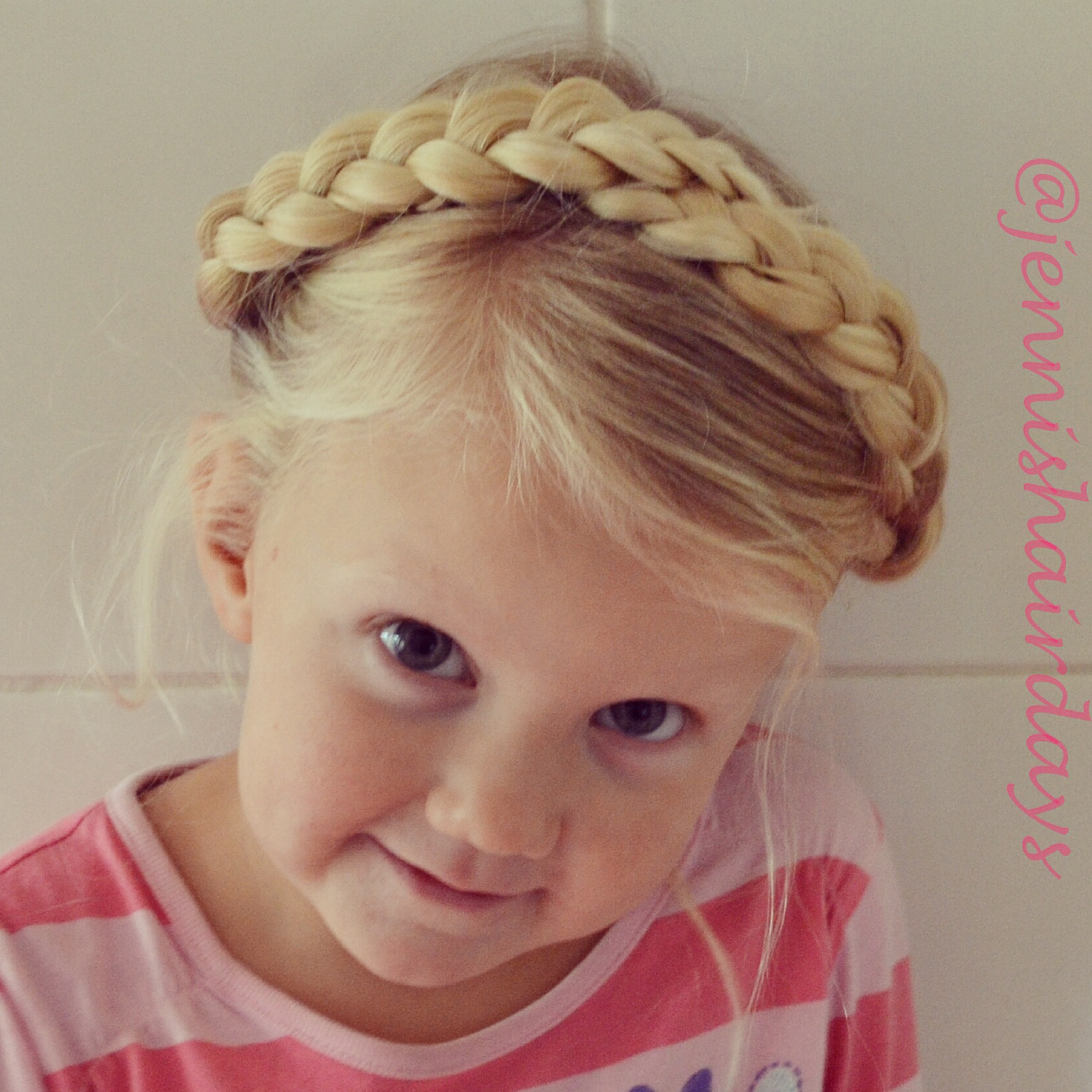 milkmaid crown braid