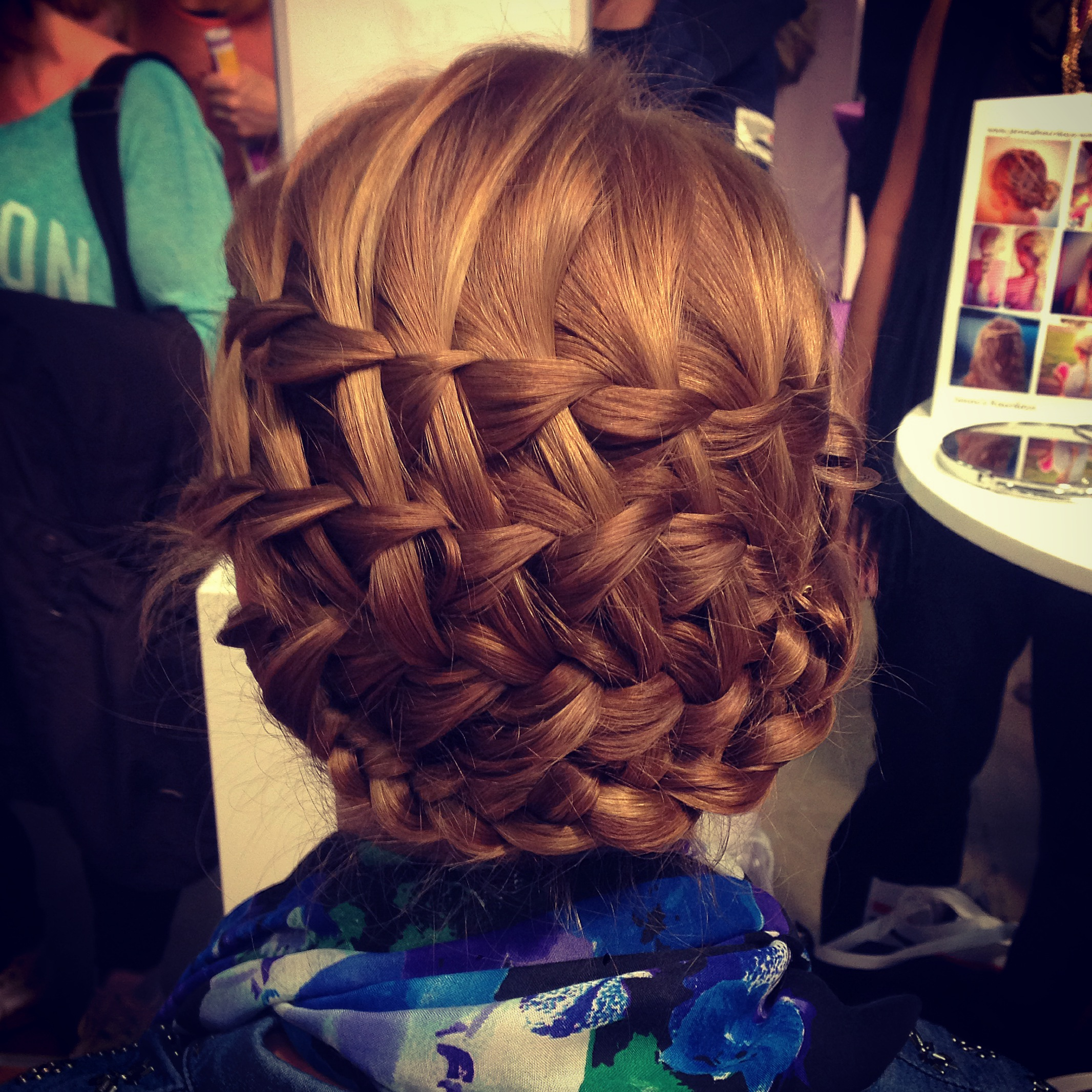 ladderbraid updo braided hairstyle