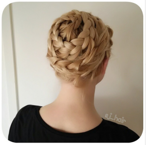 DIY Spiral braid by Sonja @sj_hair