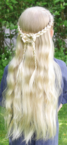 celtic knot out of three strand braids