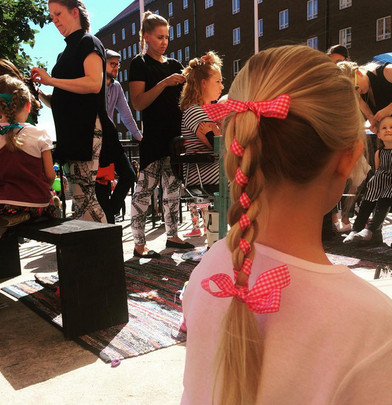 Skidity festarit: Vimma ja Jenni's hairdays
