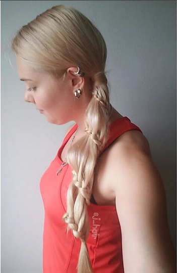 Carousel braid by @sj_hair