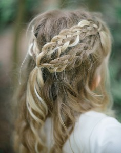 5 strand Dutch lace braids