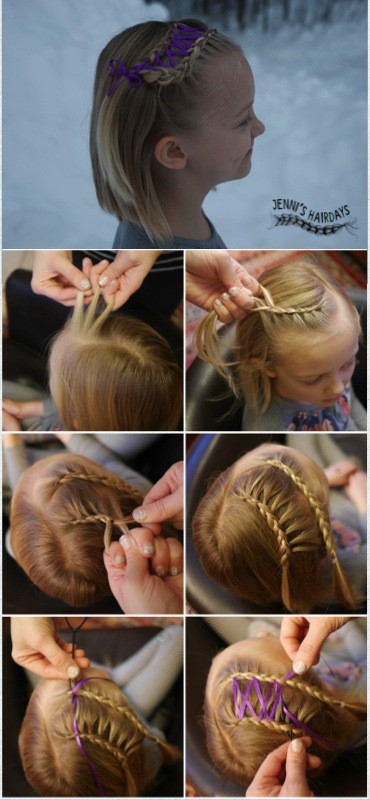 corset braid for short hair