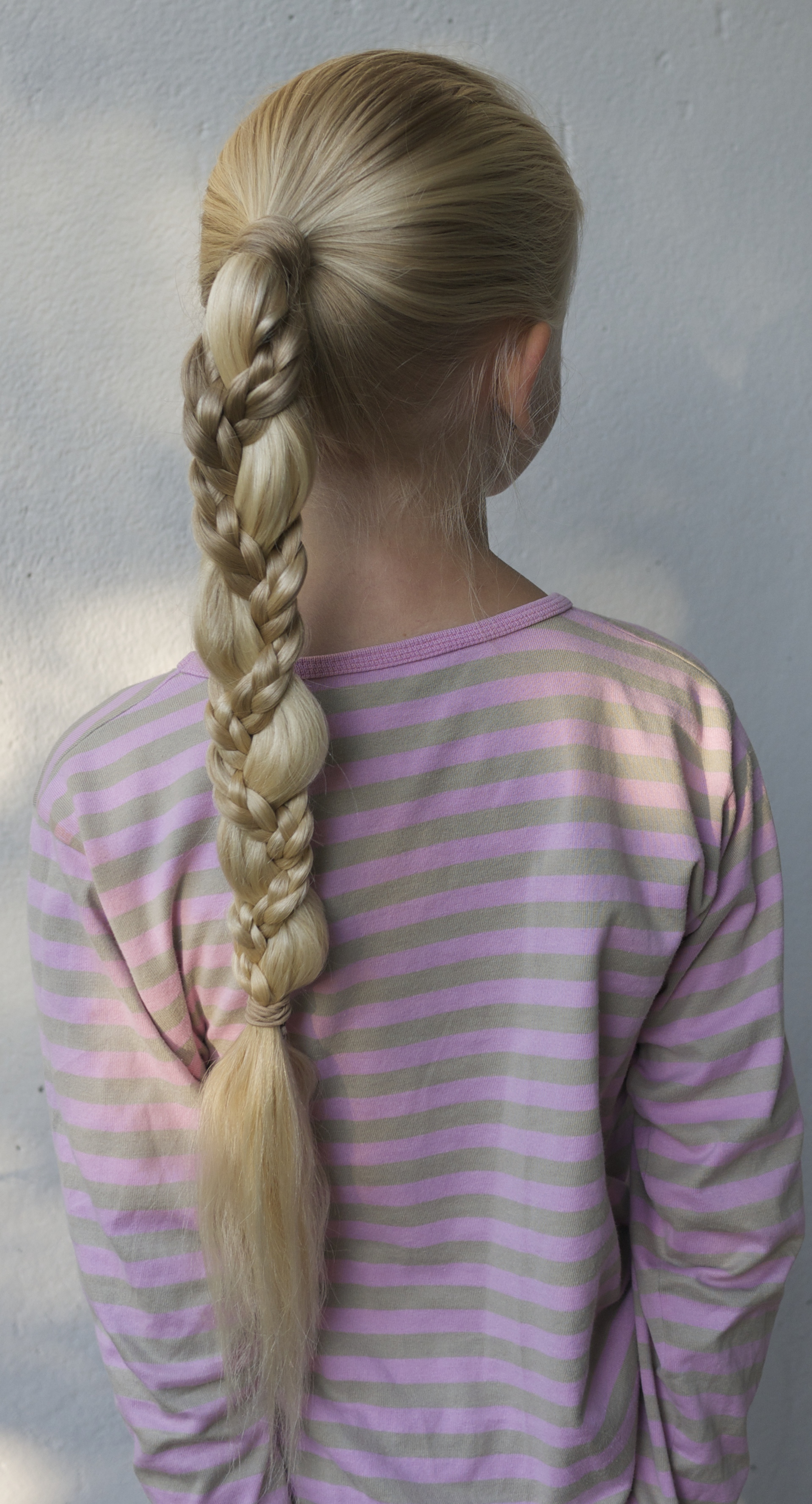 quick school morning braid